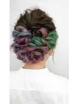 ソラ ヘアデザイン(Sora hair design)インナーカラーで 可愛く