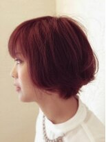 ヘア デザイン スタイリー(Hair Design stylee)レッドピンク&ピンクハイライトstylee