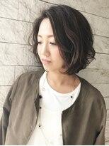 ヘアーデザイン スロープ 稲毛海岸店(Hair Design Slope)アッシュカラー×ヴェーブボブ