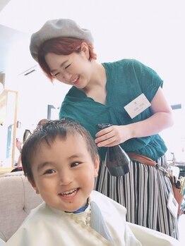 美容室ジャスミンの写真/お子様と一緒でも気軽に通える☆小さいお子様のいるママでもジャスミンならオシャレとキレイが楽しめる♪