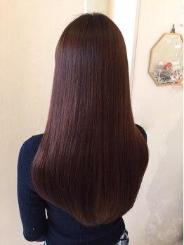 ミミ ヘアーサロン(Mimi)の写真/《春日井市》今までにない柔らかな手触りの縮毛矯正がスゴイ☆髪の悩みに合わせて丁寧にカウンセリング♪