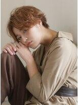 キース ヘアアンドメイク(kith. hair&make)恵比寿kith.本田×エアリーショート クラウドマッシュ 小顔
