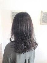 レムアサガヤ(REM-asagaya-)アンティークグレージュ×透明感カラー×イルミナカラー×前髪