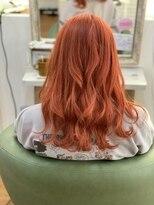 韓国風オレンジビビットcolor