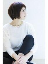ソルヘアアンドメイク (SOL hair&make)【春の】すっきりショートボブ☆SoLhair07「092-712-8677」