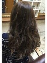 ファシオ ヘア デザイン(faccio hair design)イルミナカラー×ローライト