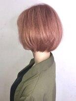 ソース ヘア アトリエ 京橋(Source hair atelier)【SOURCE】コーラルピンクベージュ