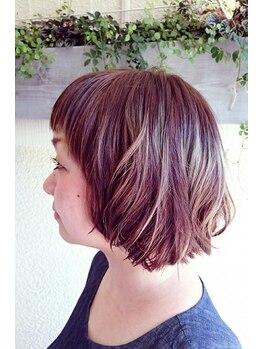 ハニーズ(Hanies)の写真/【枚方市】ヘアケアマイスターの資格所持★ダメージを受けている髪にも優しい技術とケア提案で美髪が続く♪