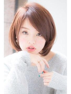ひし形ショートボブ 髪型 ヘアスタイル ジョエミバイアンアミ(joemi by Un ami)【joemi】ひし形ショートボブスタイル