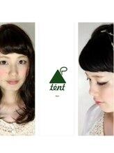 テントヘアー(tent hair)tent hair