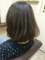 ファシオ ヘア デザイン(faccio hair design)ボブ×イルミナカラーのベージュ