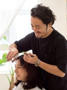 ヨリソイの写真/一人ひとりの髪質に合ったスタイルを提案!!【カット+香りが選べる地肌クレンジング(クーポン限定) ¥4650】
