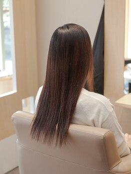 クラップスガクエン(CLAPS GAKUEN)の写真/理美容メーカーの社外講師をつとめているので毛髪科学や薬剤知識に詳しいです。ダメージレス・モチの良さ◎