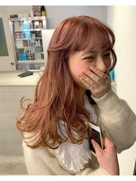 チクロヘアー(Ticro hair)AOI_オレンジベージュ