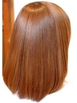 ヘアクラブ シャンティー 伏屋店(hair club shanty)の写真/くせ毛矯正に豊富な経験があるスタッフが髪質に合わせてご提案!リピーターさんもお手頃価格で縮毛矯正◎