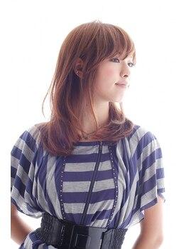 アピア スタイル アンジェ(Apia style Angie)の写真/誰もが憧れるうるおいに満ちた美しい髪色!今までよりもほんの少し自信が持てる、毎日がきっと楽しくなる☆