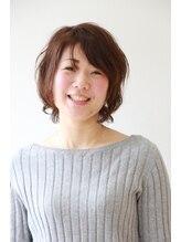 リリーレア ヘアーデザイン(LiLii Lea hair design)《LiLii Lea hair design》實川貴洋 ☆外はねショートカット☆