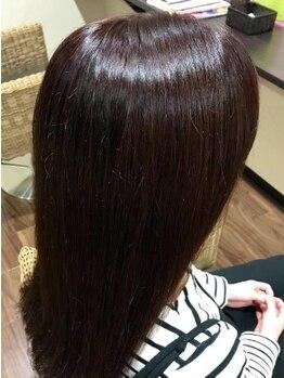 ディライト 五福店(DELIGHT)の写真/【五福◇富山大学近く】オーガニックカラー専門店♪髪に優しいから、髪の傷みが気になるお客様にオススメ♪