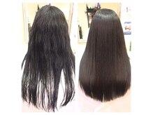 ヘアサロン アリス(hair salon Alice)の雰囲気(くせ毛を扱いやすくする縮毛矯正が得意なサロン♪)