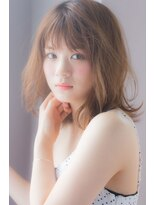 アンアミ オモテサンドウ(Un ami omotesando)【Unami】 セミウェット×大人ミディ 島田