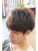ディスパッチヘアー 甲子園店(DISPATCH HAIR)前髪だけ縮毛矯正であとは、くせを活かしたスタイル