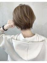 ソース ヘア アトリエ 京橋(Source hair atelier)オリーブグレージュ