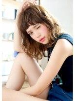 オーガスト ヘア ネイル(AUGUST hair nail)カジュアルキュートセミディ 担当 森 【横浜/3Dカラー