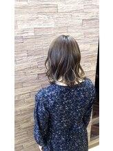 ジルヘアー(Gill hair)ビンテージカーキ