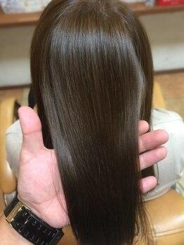 ボスヘアー フルプ(BOSS hair HULP)の写真/美髪チャージ『髪質改善サイエンスアクアトリートメント』<堺市>白髪染め&オーガニックカラー&リタッチも◎