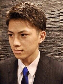 ヒロギンザ 恵比寿店(HIRO GINZA)の写真/【最終受付21時】デキるメンズが足繁く通う。1ミリに差が出るメンズスタイルはBARBERの凄さに感動[理容室]