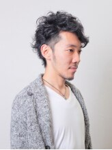 ヘアースタジオ ラスト(HAIR STUDIO LAST)ワイルド メンズスタイル