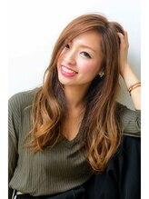 ニーナ ビューティーサロン(NINA Beauty Salon)超可愛い♪ゆるふわセミロングスタイル( ´ ▽ ` )