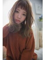 シエン(CIEN by ar hair)CIEN by ar hair片瀬『浜松可愛い』セミディ+ほつれカール