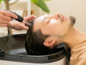 モッズヘア メン 南越谷南口店(mod's hair men)の写真/【南越谷駅3分】mod's hair【men】こだわるメンズの為のモッズヘア。癒しのSPA系クーポンも充実!<理容室>