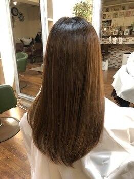 エム 綾瀬店(hair make e6+)の写真/髪質改善、トリートメントでのストレートをご提供◎くせ毛やうねりにお悩みの方、是非一度お試しください!