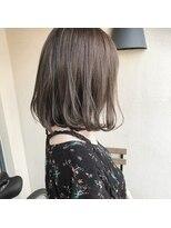 ビール 今泉店(BEER)【BEER 山崎雄太朗】お客様hair×透明感たっぷりash beige