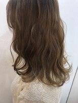 ヘアーアンドメイク ルシア 梅田茶屋町店(hair and make lucia)セミディ☆バニラベージュ