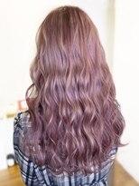 オーブ ヘアー アオ 四日市店(AUBE HAIR ao)【AUBE HAIR】韓国風カラー_ピンク