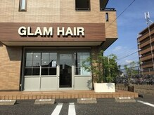グラムヘアー(GLAM HAIR)の雰囲気(癒しの空間をお楽しみください。ヘッドスパもできます。)