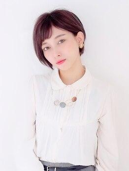 リジィー(Li Gee)の写真/【藤井寺駅5分】小顔魅せが叶う!トレンド感を組み込みつつ、ショートならではの凛としたお洒落感を演出。