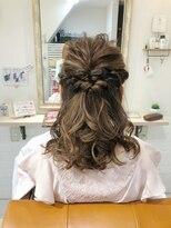 ルルカ ヘアサロン(LuLuca Hair Salon)LuLucaお客様☆スナップ ハーフアップ
