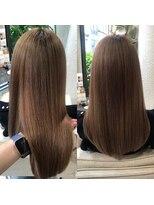 ビーヘアサロン(Beee hair salon)髪質改善トリートメント/安部郁美