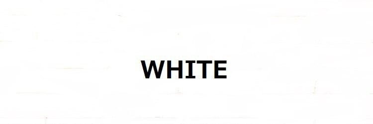 ホワイト(WHITE)のサロンヘッダー