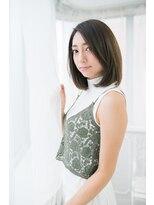 ヘナ ファクトリー 八王子店際立つ美髪☆黒艶髪ヌーディーストレート
