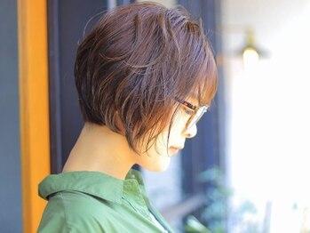 """ヘアケアゲート(hair care Gate)の写真/魅力をもっと引き出す大人可愛い""""褒められ""""ショート♪今までで一番似合うスタイルで新しい自分が見つかる"""