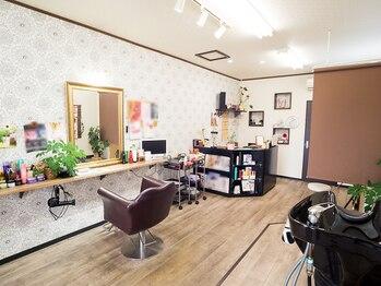 美容室 ボヌール(bonheur)の写真/【気さくなスタイリストがお出迎え☆】マンツーマン施術なので自分のイメージするStyleをとことん追求♪
