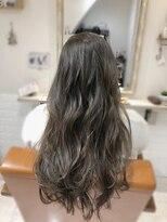 ルルカ ヘアサロン(LuLuca Hair Salon)LuLucaお客様☆スナップ ロング×ナチュラルアッシュ