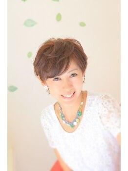 ヘアメイクラムネ(hair make ramune)の写真/ヘアケアマイスター考案!白髪染。頭皮と髪を大切に♪多彩なカラーを楽しめます。
