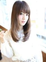 """アグ ヘアー ナプラ錦店(Agu hair napla)王道""""ナチュラル""""ストレートヘア"""