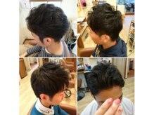 ヘアーアンドリラックスフィカス(Hair&Relax FICUS)の雰囲気(メンズのお客さまの割合約50%。刈上げ、ツーブロ、パーマ☆)